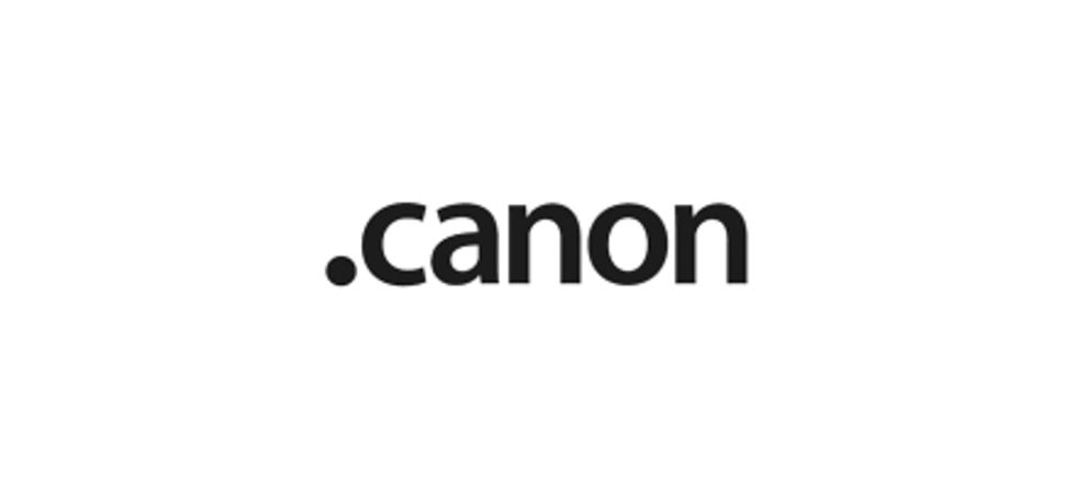Canon vill äga .canon-domänen