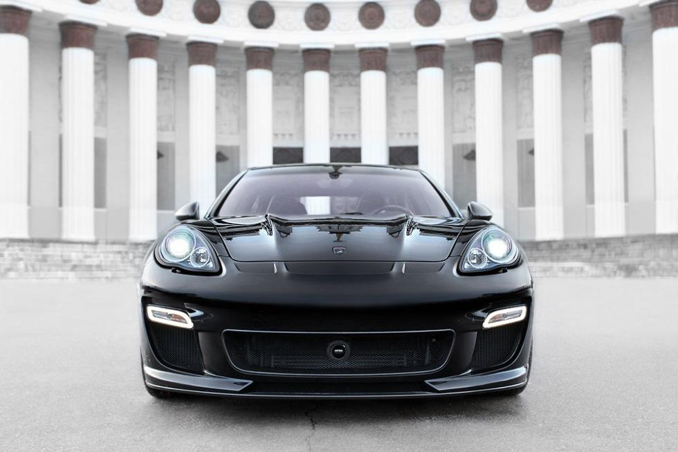 Porsche Panamera på ryskt vis