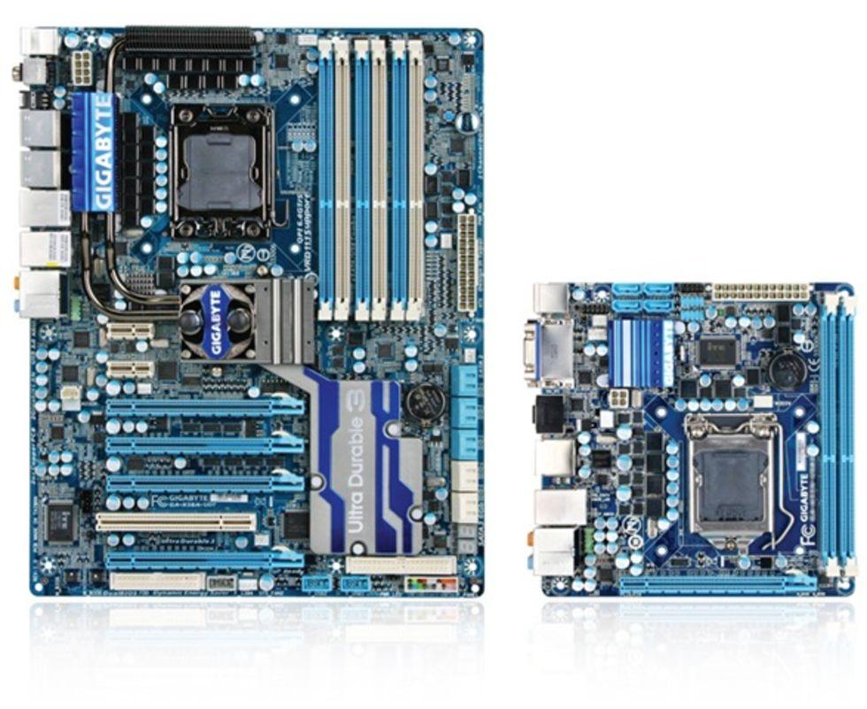 Gigabyte tillkännager H55 Mini-ITX moderkort