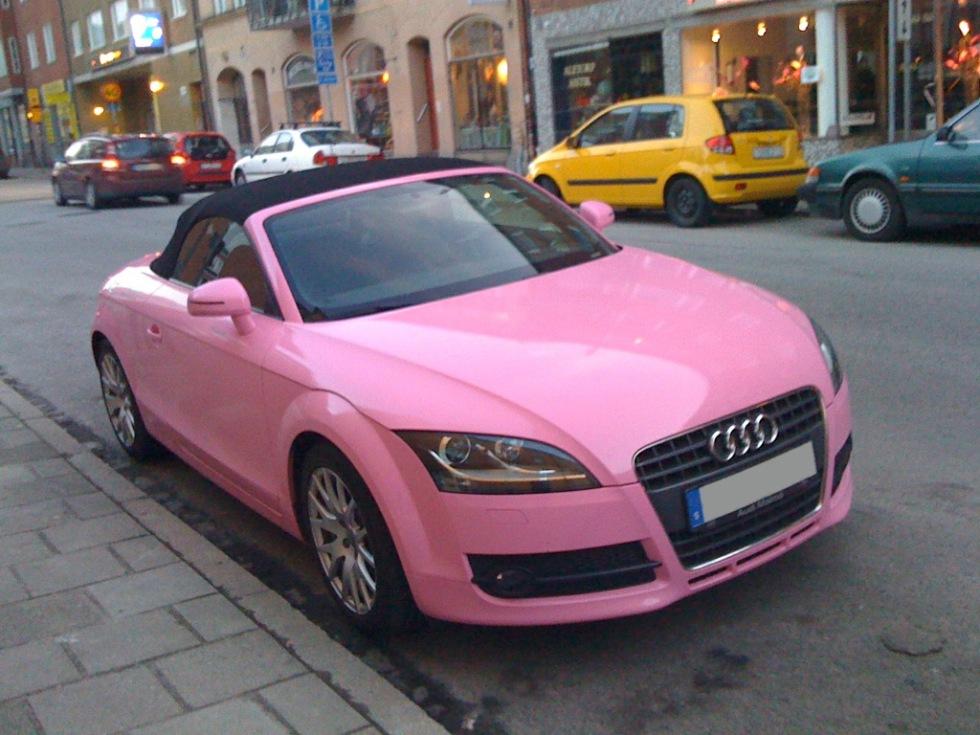 Rosa TT i Stockholm