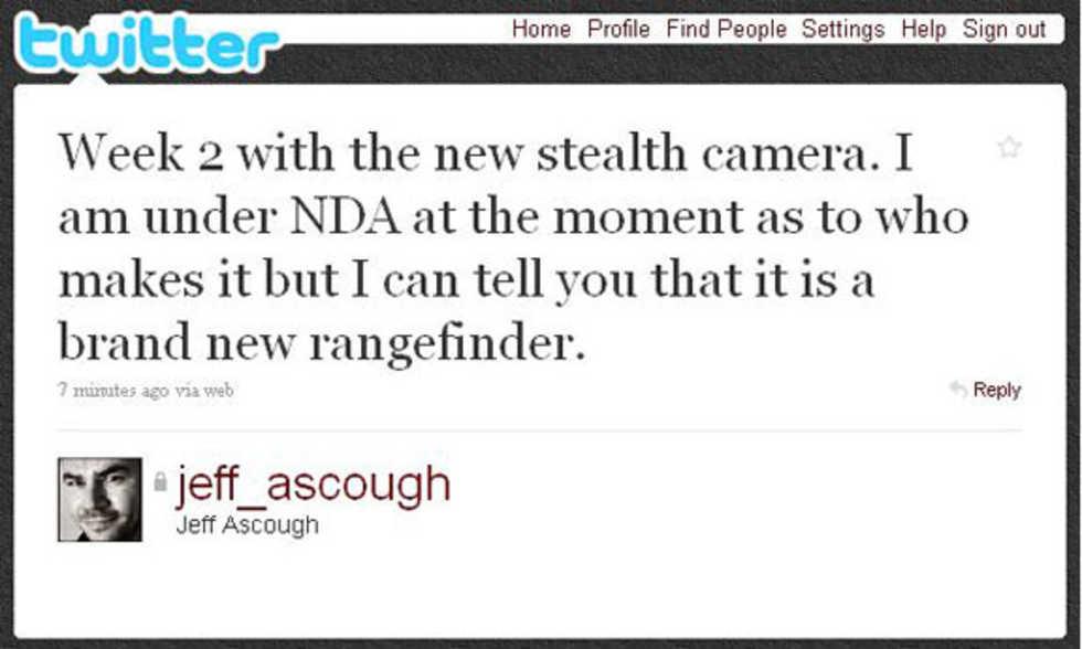 Ny sökarkamera med fullformatssensor