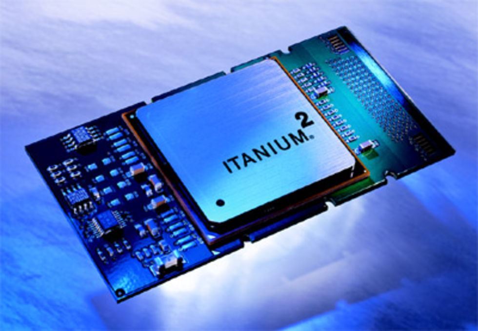 Microsoft slutar ge stöd åt Itanium