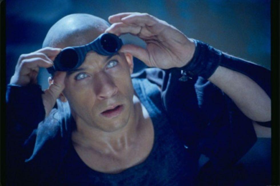 Tredje Riddick blir inte snäll