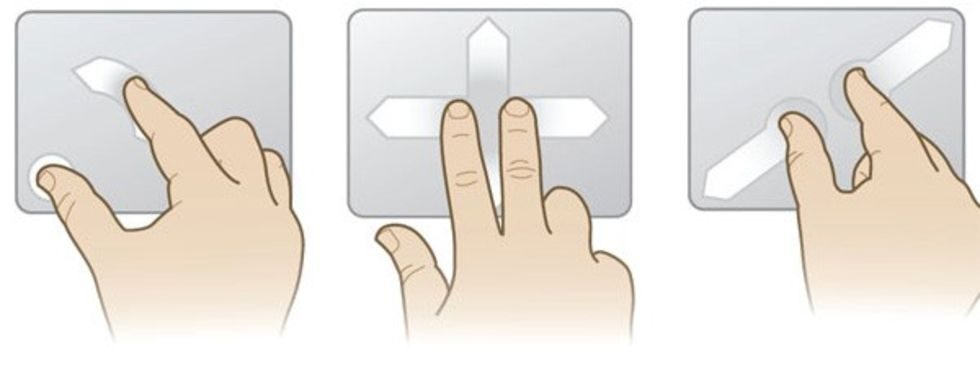Synaptics ger multitouch touchpads till Linux