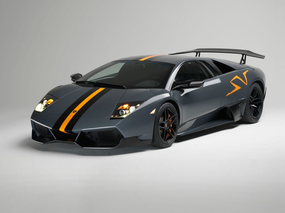Slutspurt för Lamborghini Murciélago