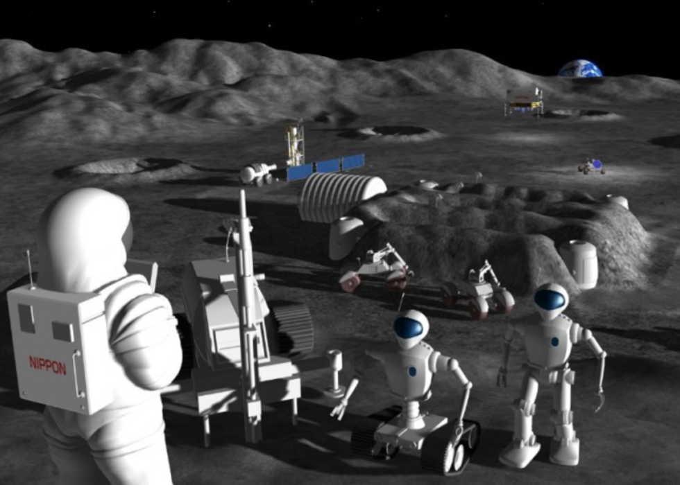 Japan planerar att sätta en humanoid robot på månen 2015