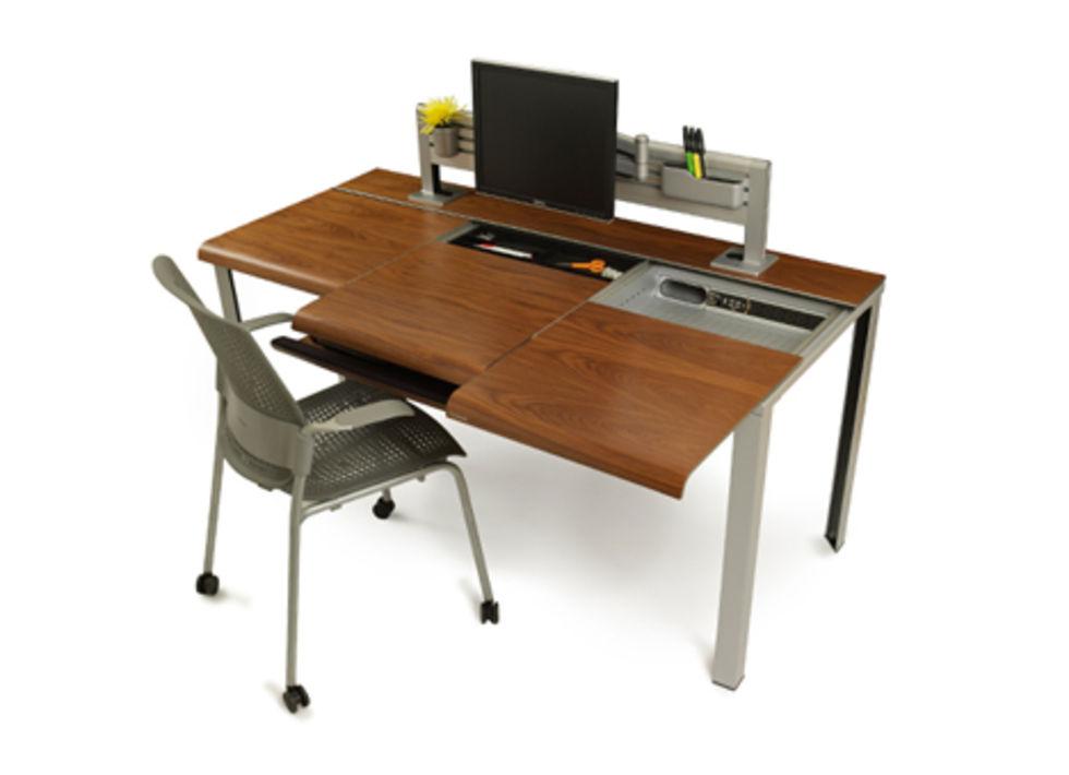 Skrivbord med extra allt