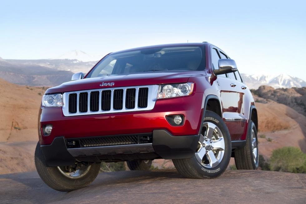 Nya bilder på Jeep Grand Cherokee