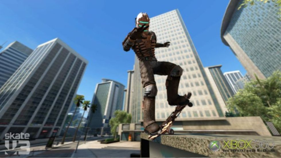 Dead Space-Isaac gästspelar i Skate 3