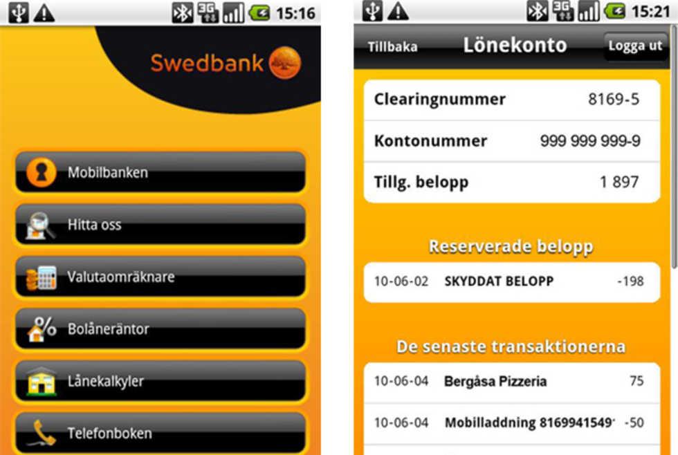 Swedbank Internet Bank