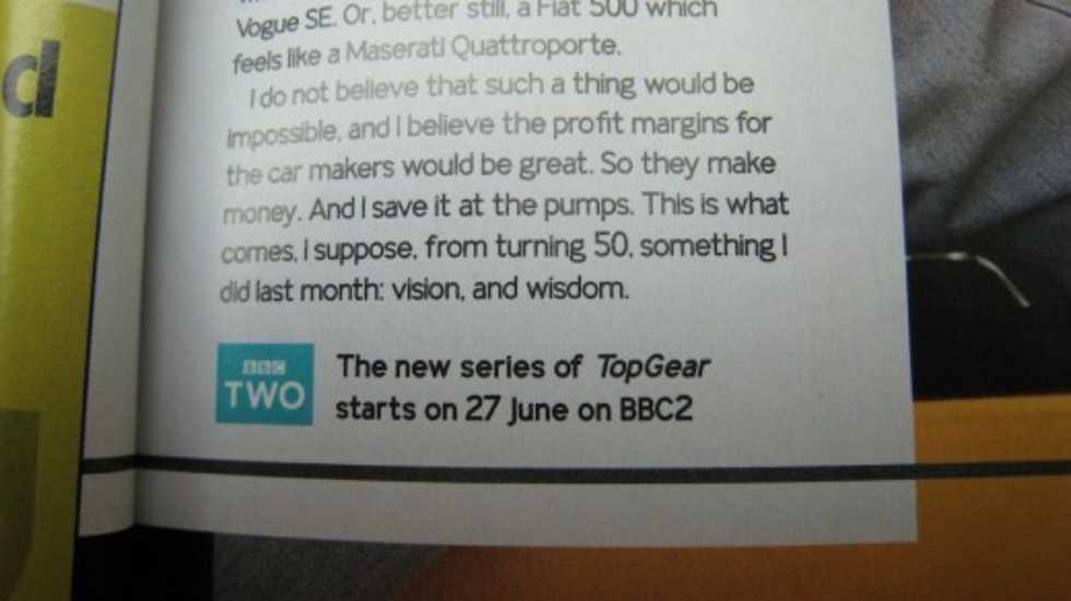 Top Gear tillbaka den 27 juni