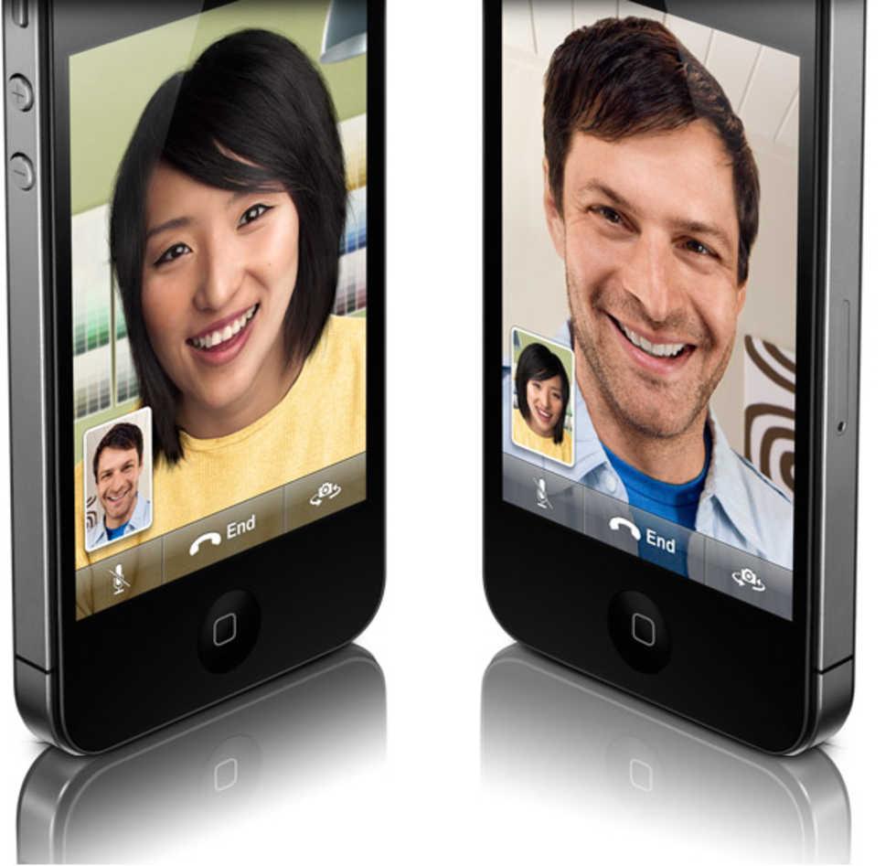 iPhone 4 får videosamtal