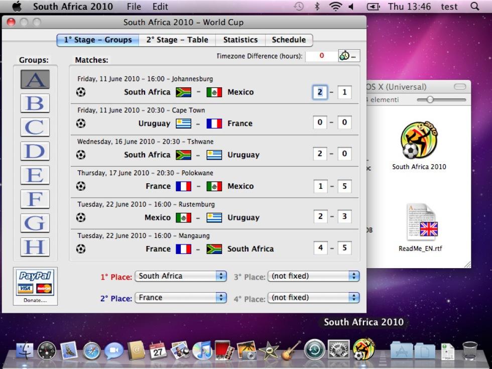 South Africa 2010 håller koll på fotbolls-VM