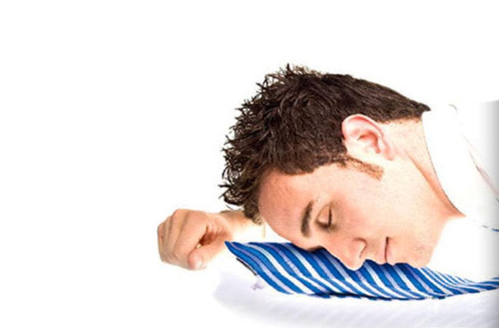 Pillow Tie - när du vill sova på jobbet