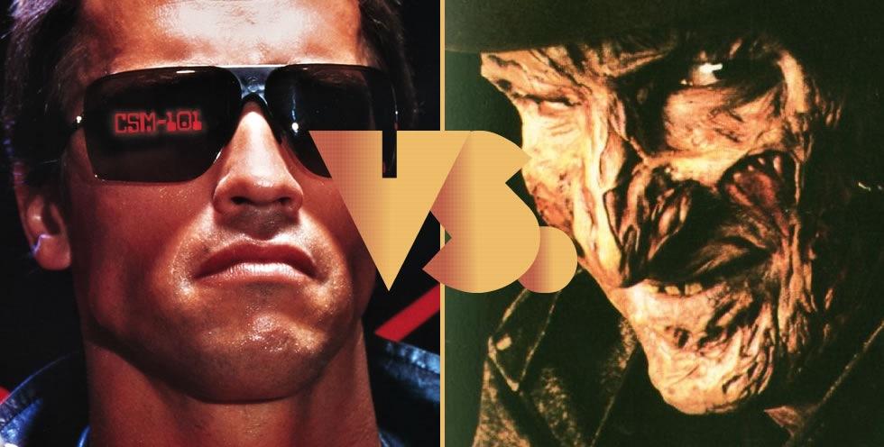 T-800 vs. Freddy Krueger