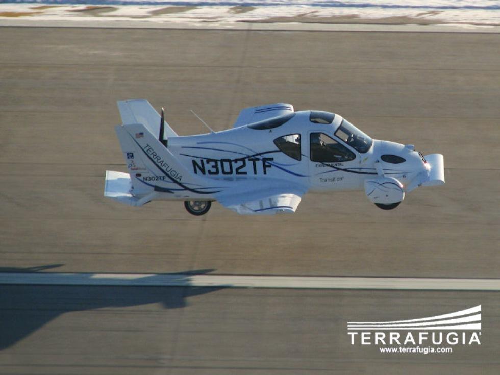 Den flygande bilen Transition godkänns av amerikanska myndigheter