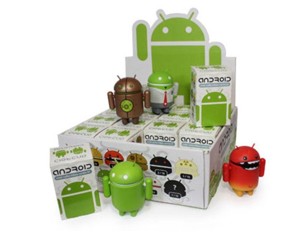 Android-dockorna anländer i Sverige