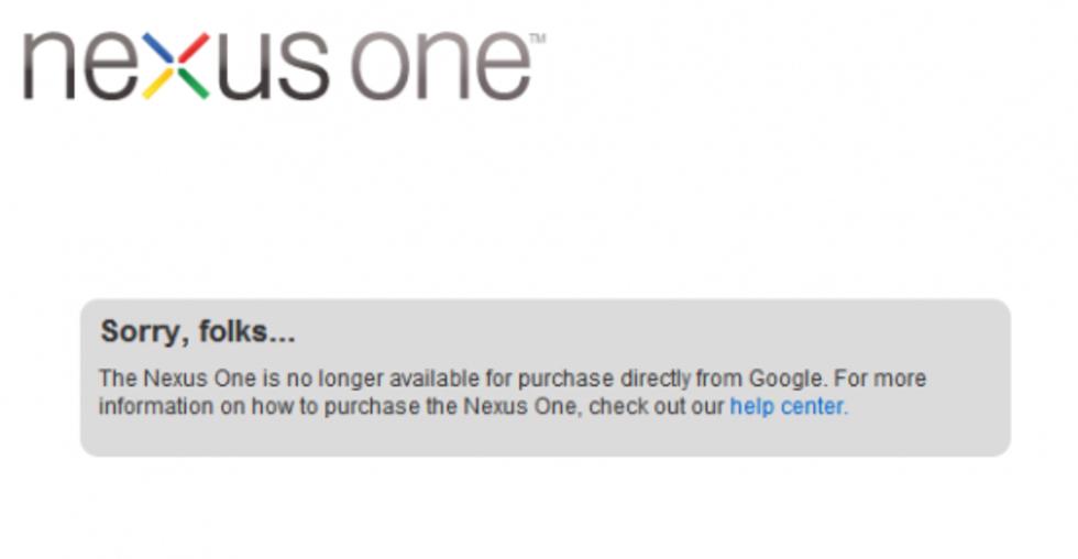Google har stängt butiken