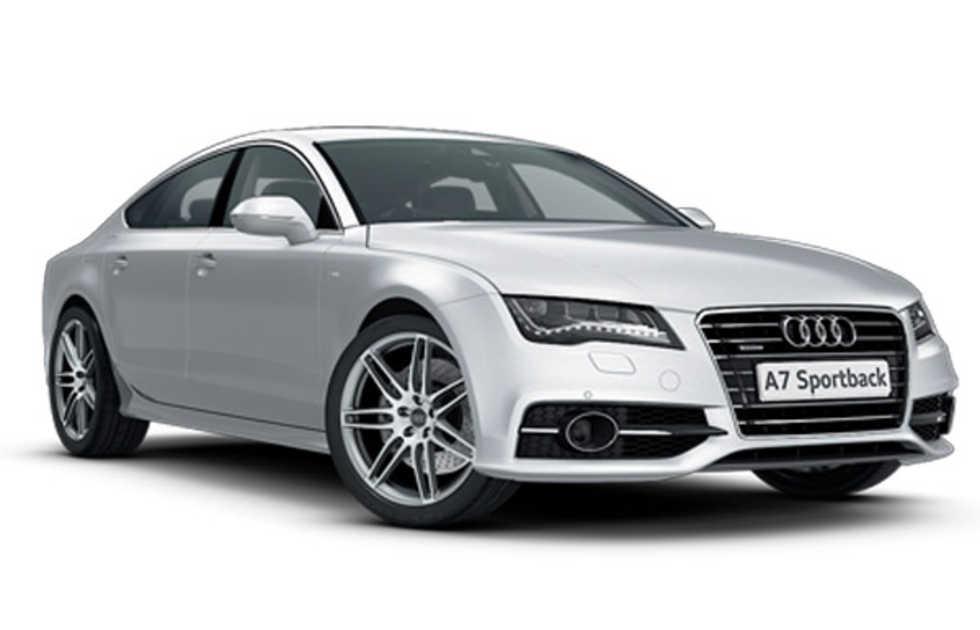 Audi A7 med S-linepaket