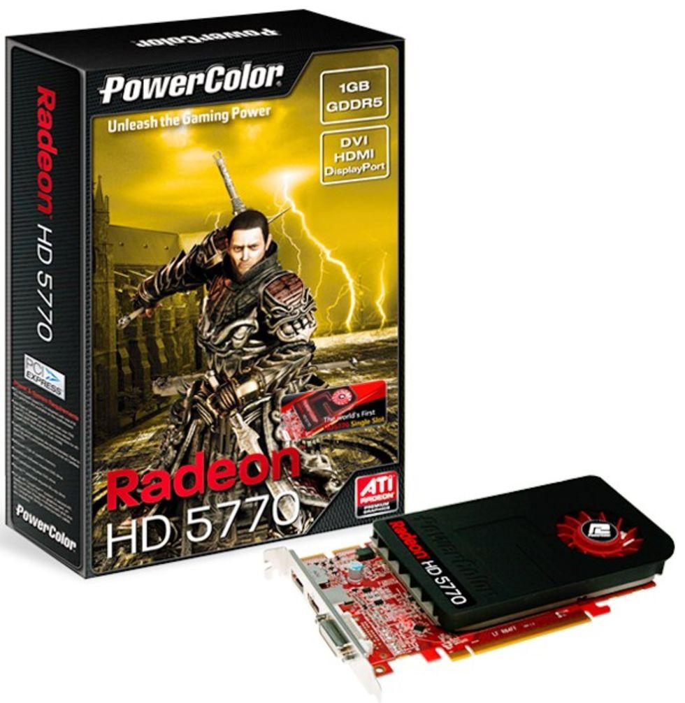 PowerColor tillkännager Single-Slot HD 5770
