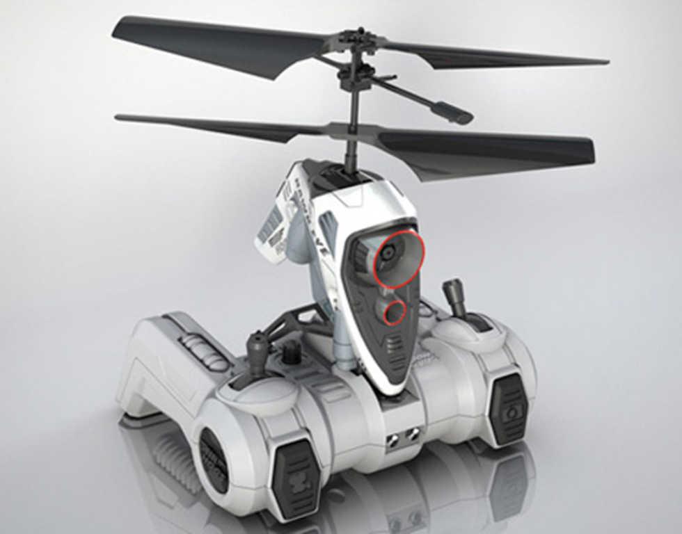Hawk Eye - radiostyrd helikopter med kamera
