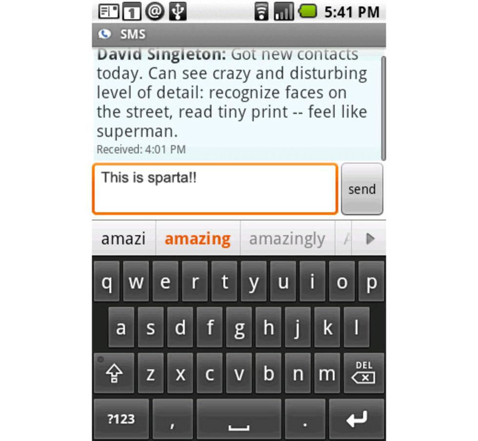 SMS-Trojan påträffad