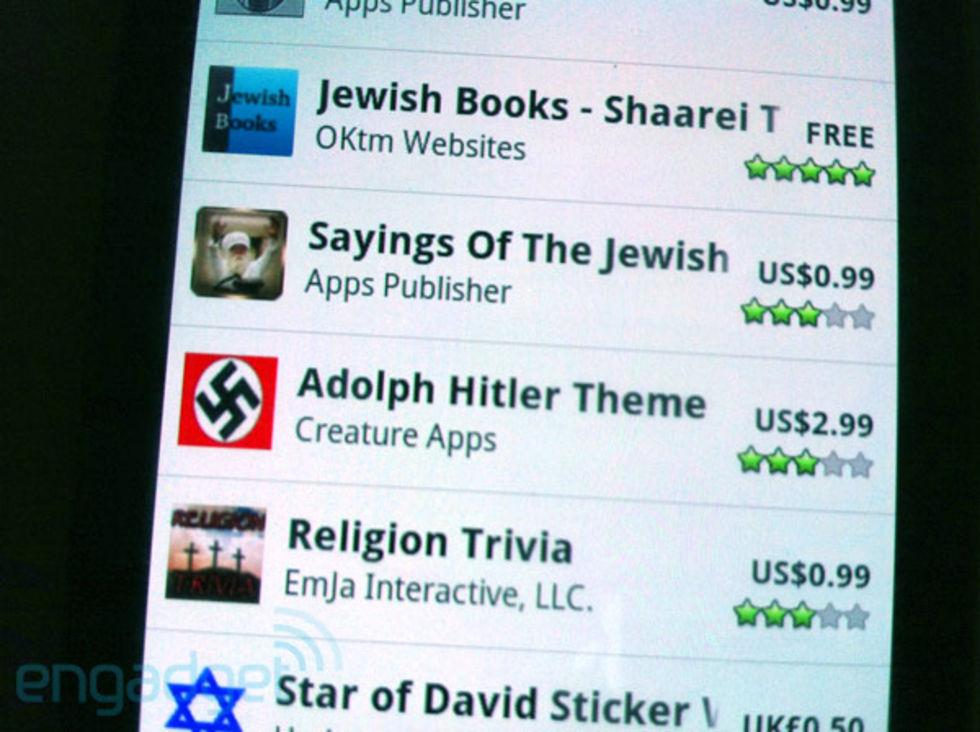 Hitler-tema bortplockat från marknaden