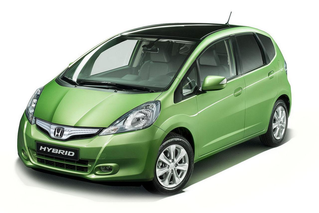 Första officiella bilderna på Honda Jazz Hybrid