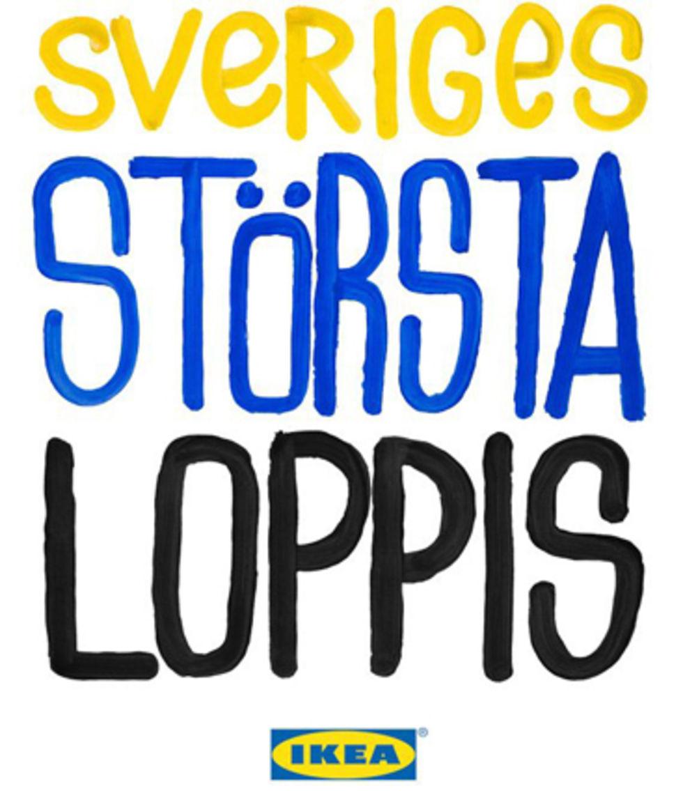 Loppis på IKEA