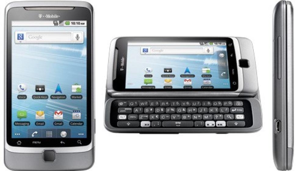 Bilder på HTC G2/