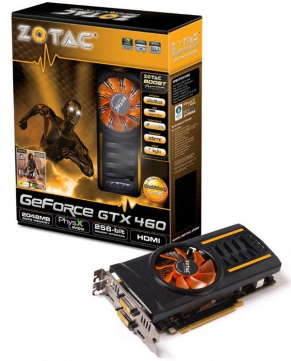 2GB versioner av GeForce GTX 460 börjar dyka upp