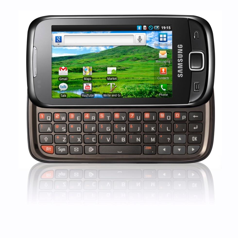 Samsung släpper ny galax med qwerty-tangentbord. Börjar det inte bli ... 41d87ee69134b