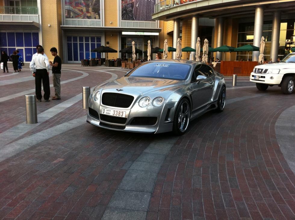 Carspotts från Dubai