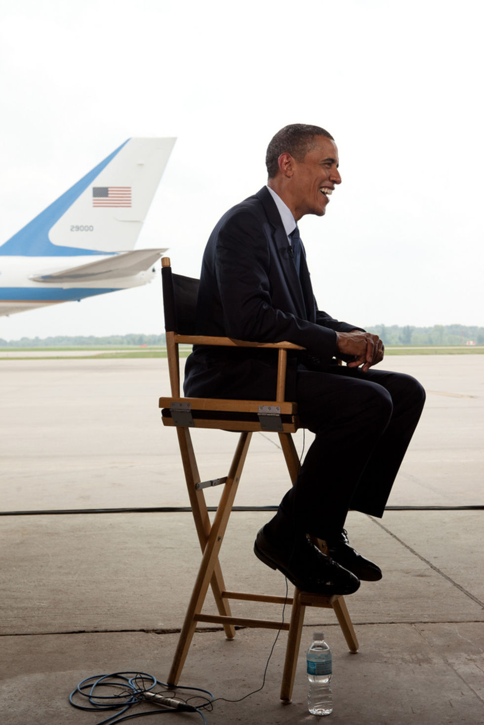 Barack Obama medverkar i Mythbusters
