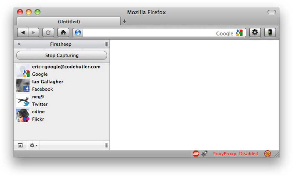 Firesheep - Firefox-plugin som kan kapa ditt Facebook-konto
