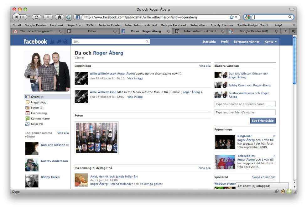 facebook vänner