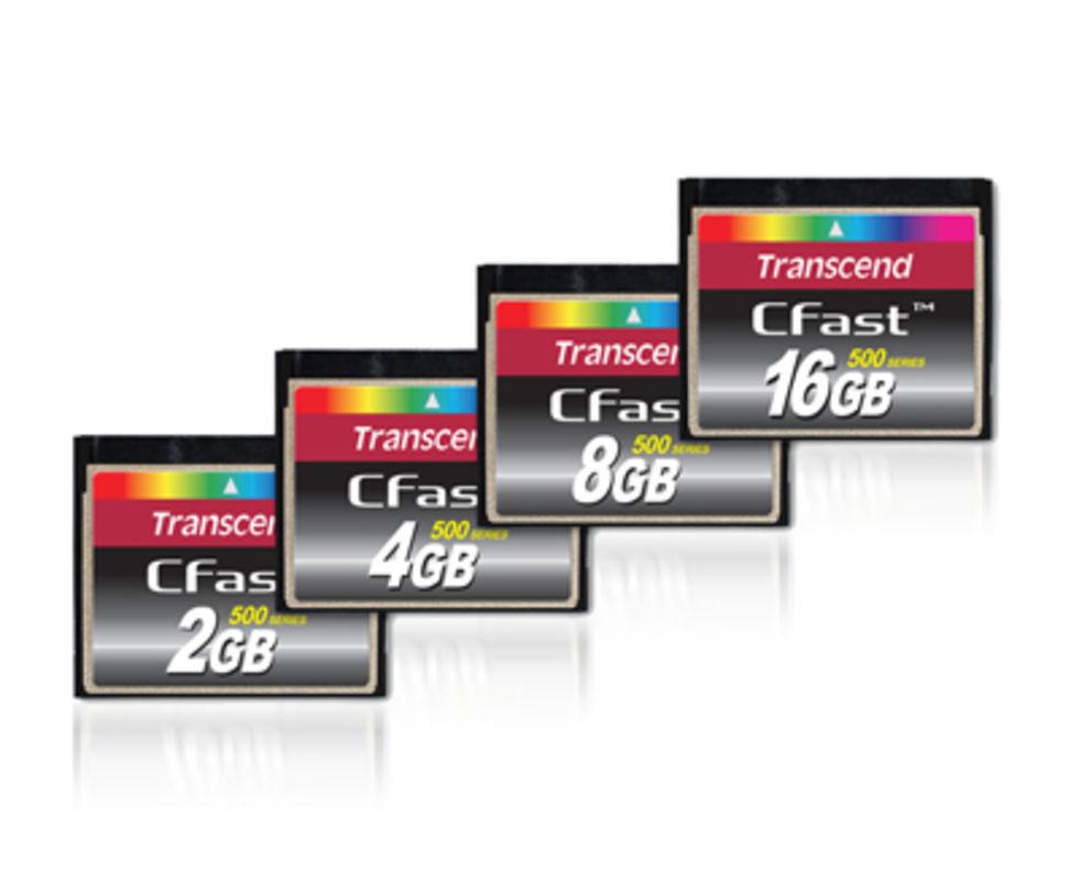 Transcend börjar sälja CFast-kort