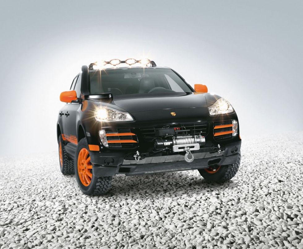 Porsche ska tackla Transsibiriska Rallyt med Cayenne