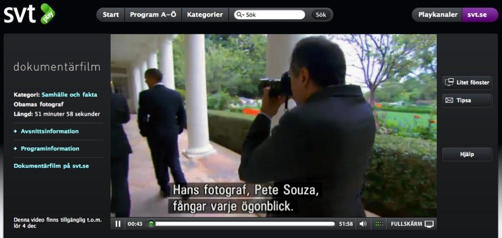 Bakom kulisserna med Obamas fotograf