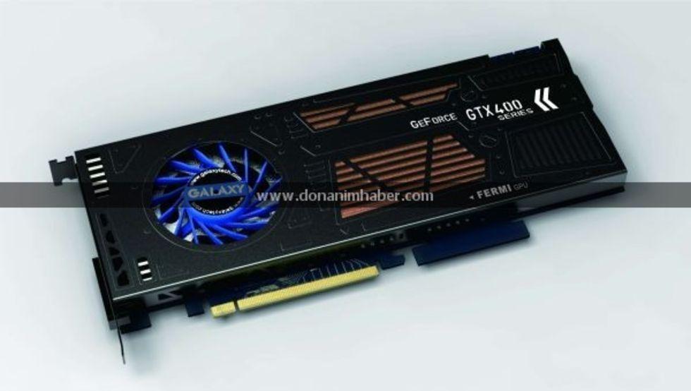 Galaxy designar Single-Slot GeForce GTX 460