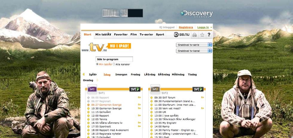 Discovery Channel gör en fet takeover på TV.nu