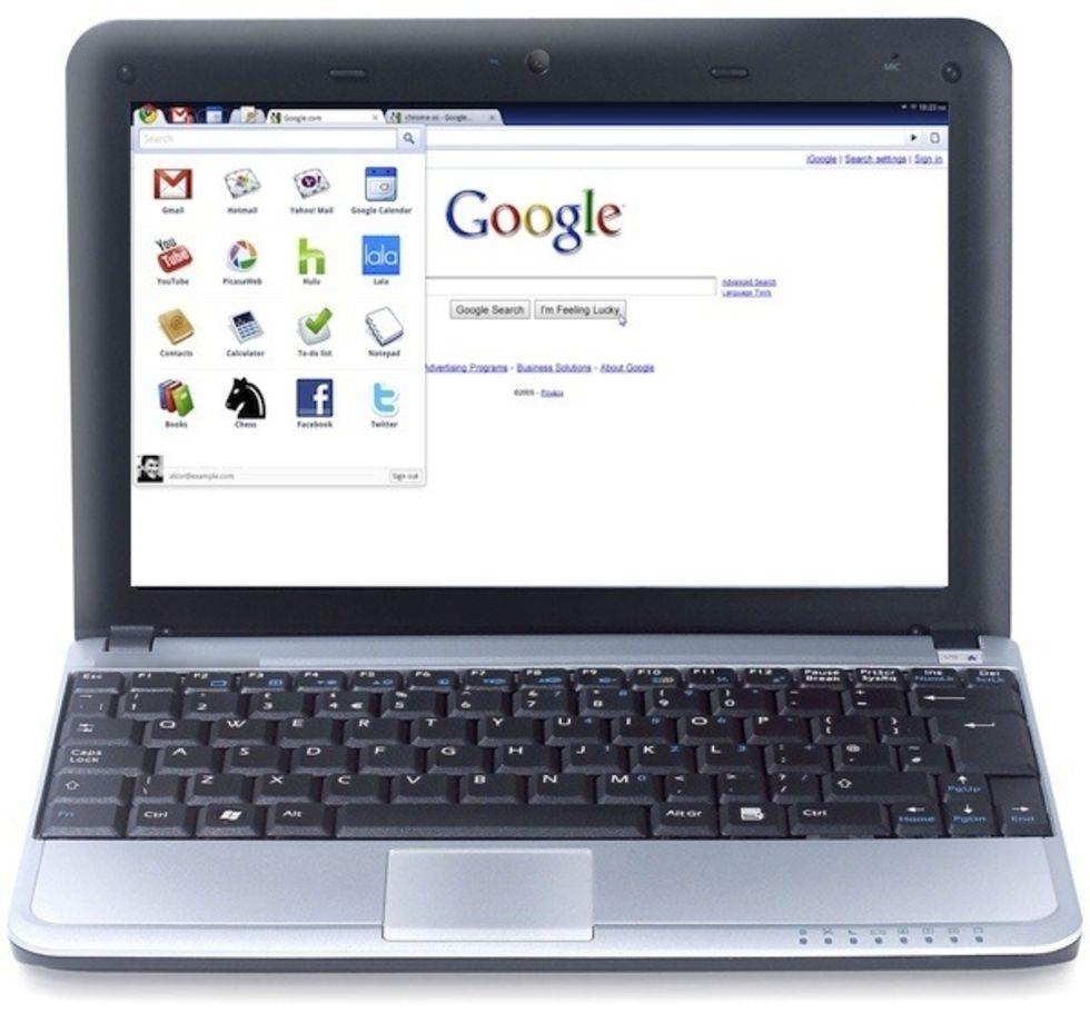 Chrome OS försenat till 2011