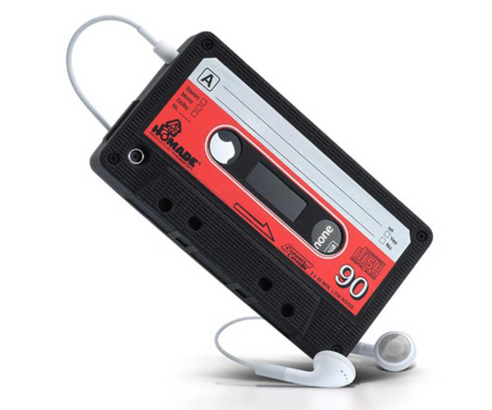 Kassettbands-fodral till iPhone 4