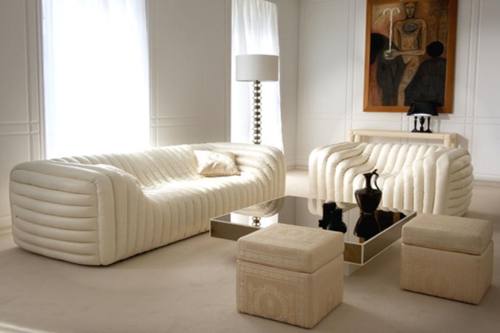 Bubblig soffa