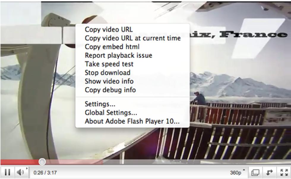 Nu enkelt att länka till en särskild tid på YouTube-klipp
