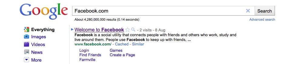 Söktrender på Google.se under 2010