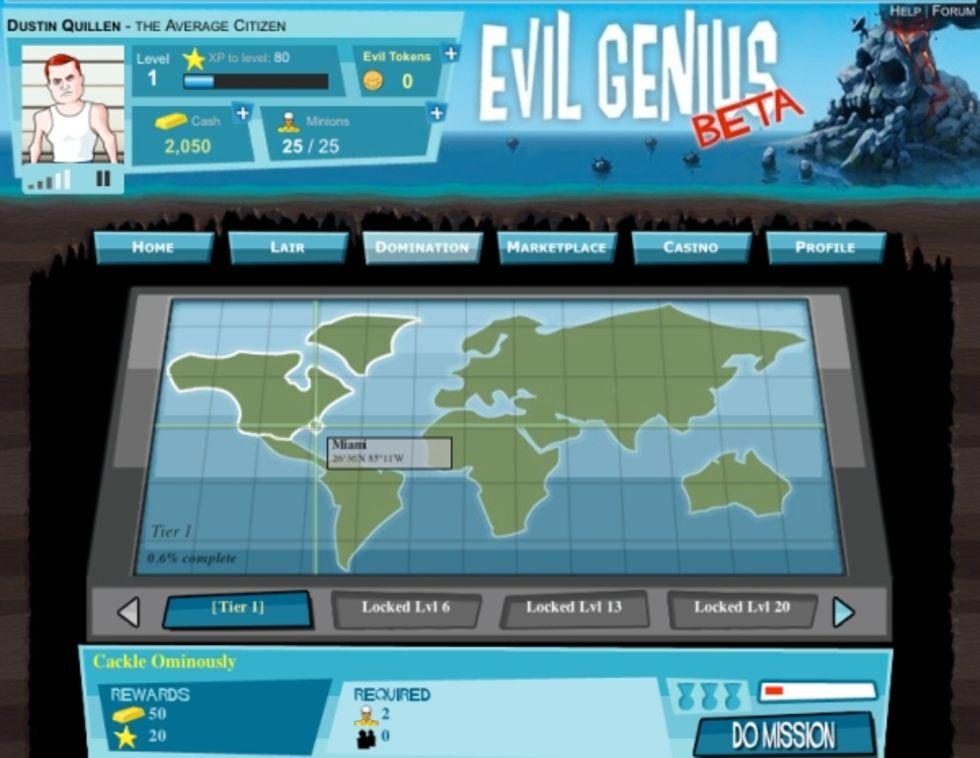 Evil Genius återvänder