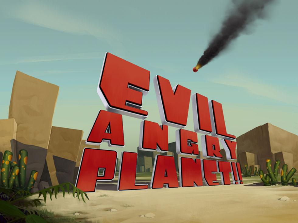 Bilder från Evil Angry Planet!!