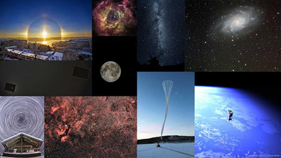 De bästa svenska astronomi- och rymdbilderna 2010