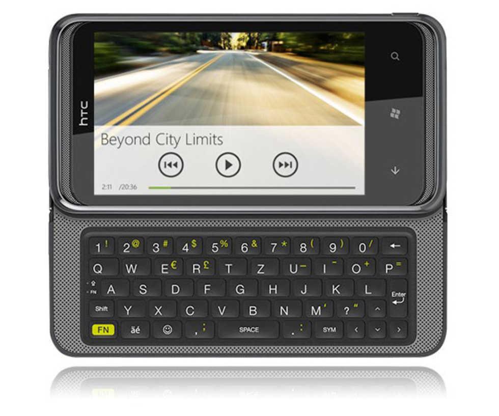 HTC 7 Pro kommer i januari. HTC med Windows Phone 7 och QWERTY ... 9b184abe607d0